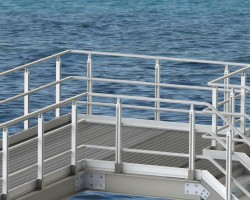 Alphastrut aluminium handrail system achieves DNV GL certification
