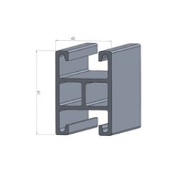 Alphastrut aluminium support system - Section AC-2C data sheet