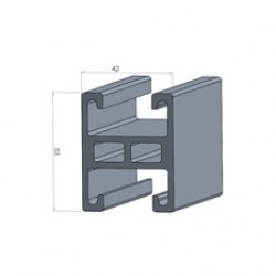 Alphastrut aluminium support system - Section AC-02 data sheet.