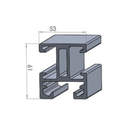 Alphastrut aluminium support system - Section AC-03 data sheet