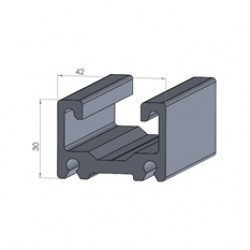 Alphastrut aluminium support system - Section AC-05 data sheet.