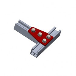 Alphastrut aluminium support system - Brackets data sheet.