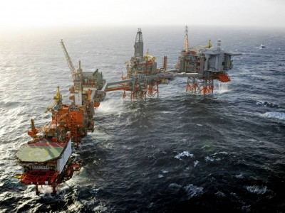 Alphastrut was chosen to save weight on the BP Valhall offshore platform.